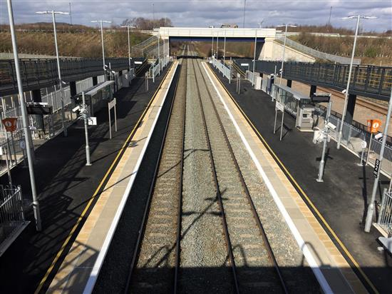 Ilkeston Station is NOW OPEN